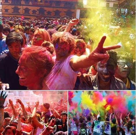 1 2 - Holi Festival partisine hazırmıyız?