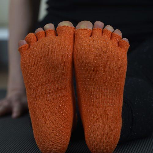 Kesik Parmaklı Kaymaz Çorap (Anti-slip) Image
