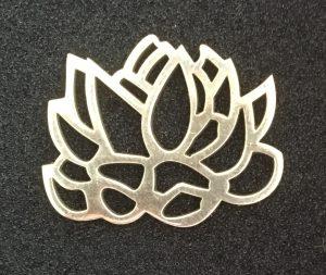 925 ayar gümüş lotus kolye