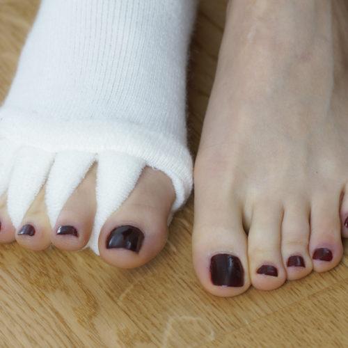 Parmak Aralayan Çorap Image