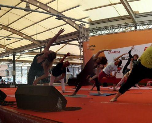 Gençlik, Spor ve Sağlıklı Yaşam Festivali yoga