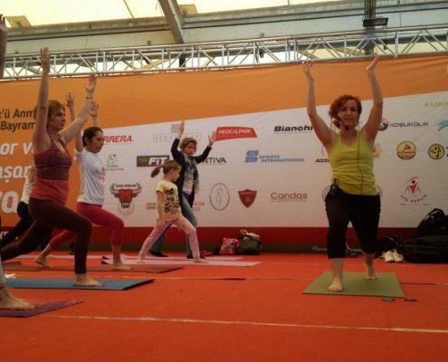 Gençlik, Spor ve Sağlıklı Yaşam Festivali karşıyaka