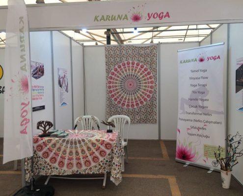 Gençlik, Spor ve Sağlıklı Yaşam Festivali Yoga Stand