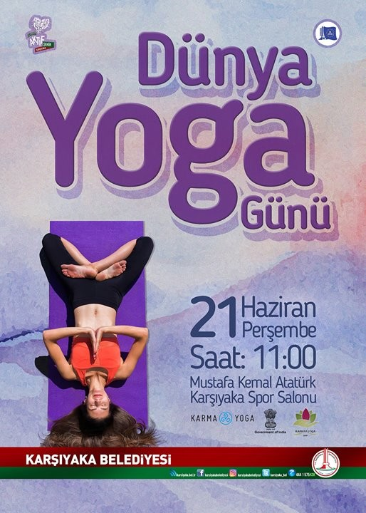 Dünya yoga günü karşıyaka - Dünya Yoga Günü