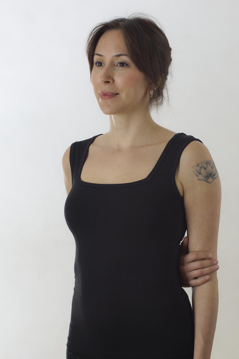 Vriksha Tişört Yoga Top - Karuna Dükkan