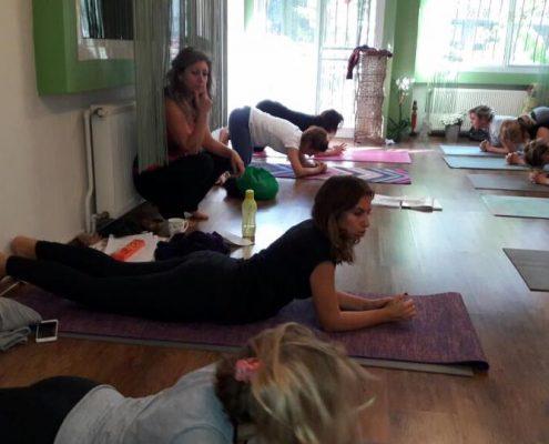 erife Karahançer ile Temel Yoga Eğitimi 4 495x400 - Şerife Karahançer ile Temel Yoga Eğitimi