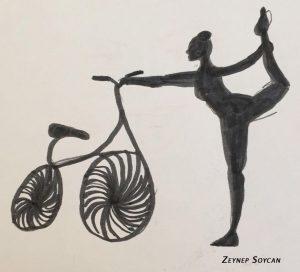 bisiklet1 300x272 - Yoga ve Bisiklet