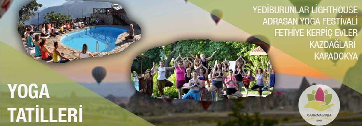 yoga tatilleri