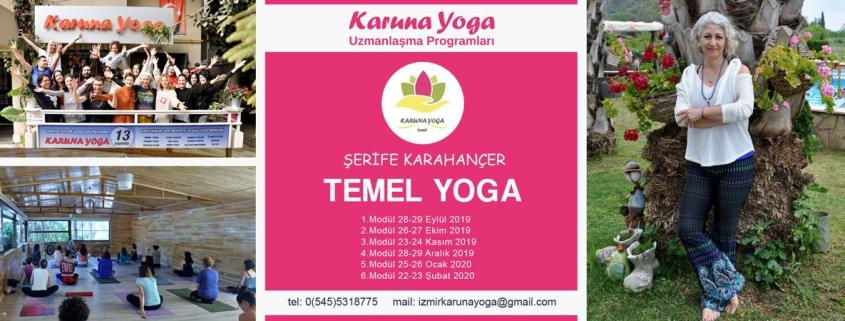 temel yoga uzmanlaşma progr 845x321 - Şerife Karahançer ile Temel Yoga Uzmanlaşma Programı | Eylül 2019