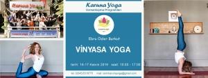 Vinyasa Yoga 300x113 - Ebru Özler Burkut ile Vinyasa Yoga