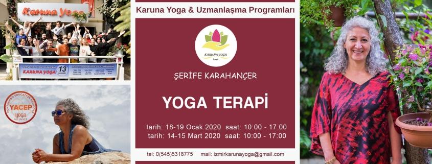 yoga terapi eğitimi 845x321 - Şerife Karahançer ile Yoga Terapi